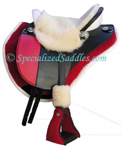 Specialized Saddles International with Fleece Buckle Covers