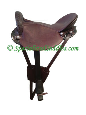 Specialized Saddles Ultra Light Mahogany with Billet Keepers