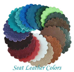 Specialized Saddles Seat Leather Color Samples
