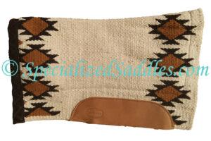 Specialized Saddles Cream Black Navajo Saddle Pad