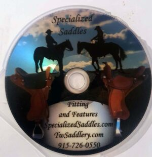 Specialized Saddles TW Sadderly DVD
