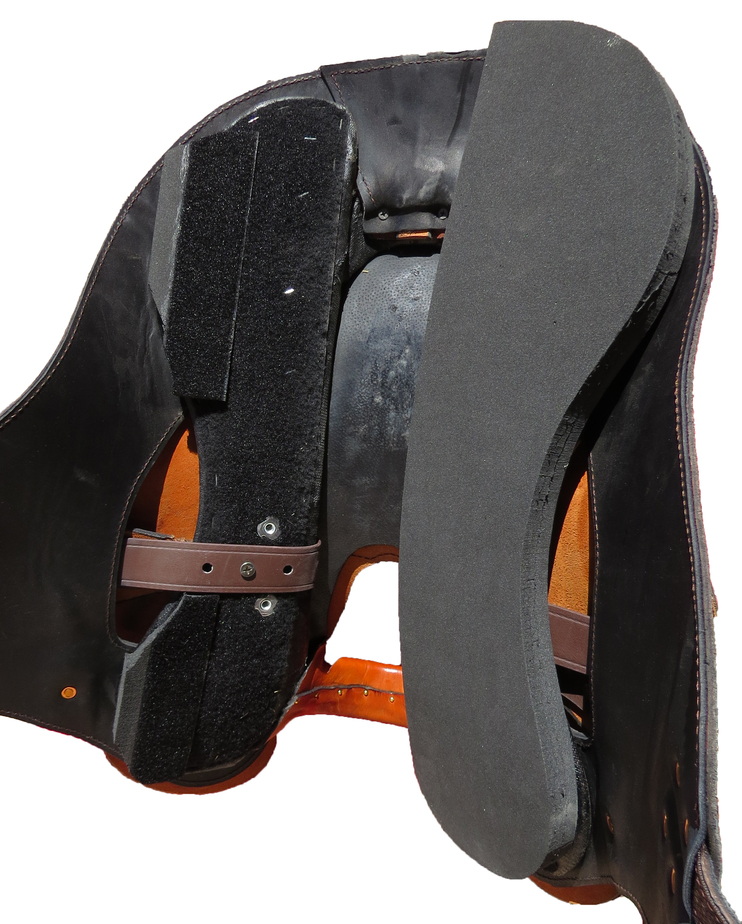 3D Adjustable Saddle Fitting System - Underside