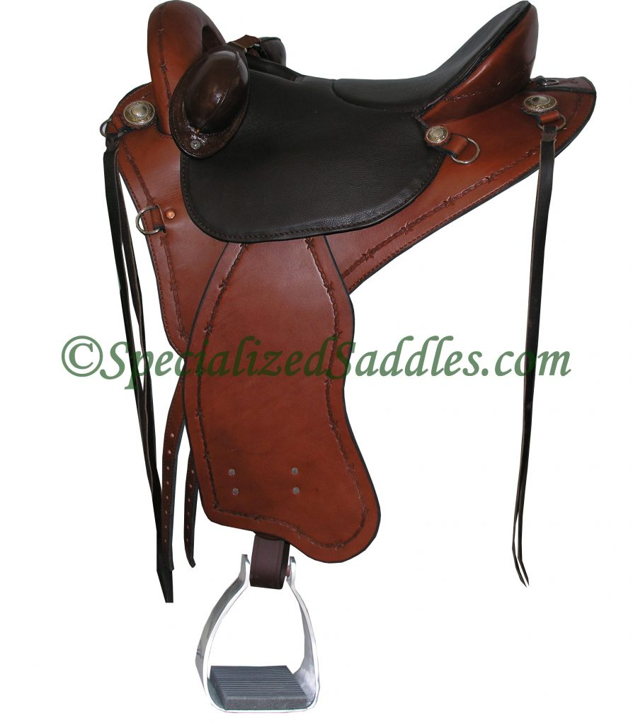 Specialized Saddles Brown Eurolight with Barbwire Edge Tooling