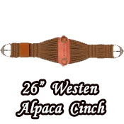 Western Alpaca Cinch