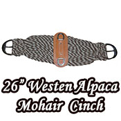 Western Alpaca Mohair Twist Cinch