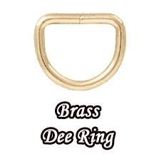 Brass Dee Ring