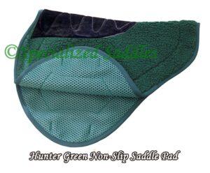 Hunter Green non-slip lining