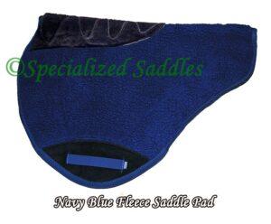 Navy blue fleece lining