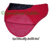 Red, non-slip lining