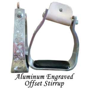 Aluminum Engraved Offset Stirrups