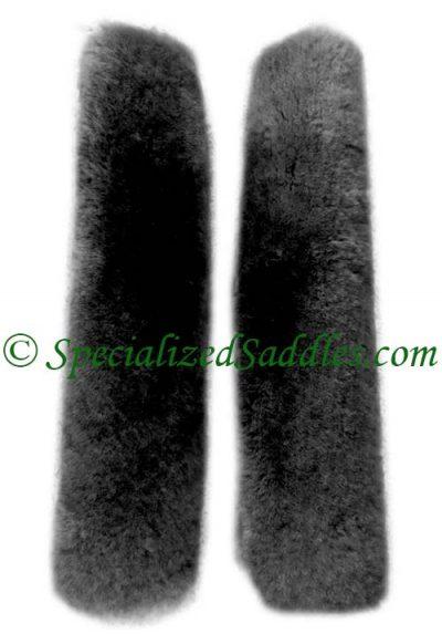 Black Fleece Leather Covers
