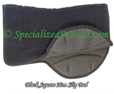 Black Square Non Slip Pad