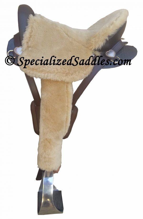 Specialized Saddles Ultralight Fleece Seat and Leather Covers