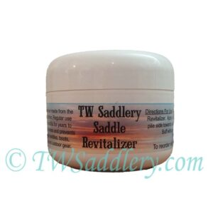 TW Saddlery Saddle Revitalizer Jar