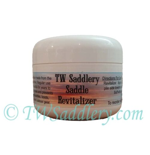 TW Saddlery Saddle Revitalizer Jar