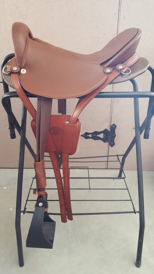 16 inch Brown Ultralight Saddle