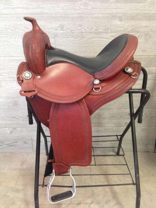 TWSaddlery.com 15 inch Featherweight Trail Saddle 3599