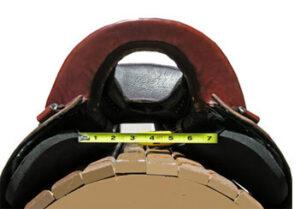 3D Adjustable Saddle Fitting System - Width