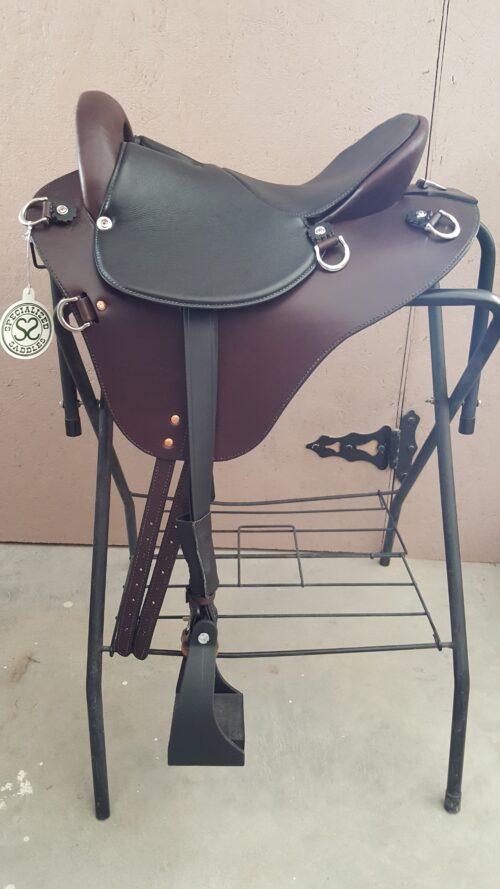 15 inch Mahogany Eurolight Saddle